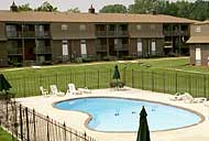 KC apartments by KU Med with pool.